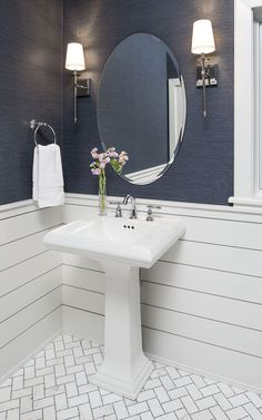 Bathroom decor for the master bathroom renovation. Learn bathroom organization, master bathroom home decor tips, bathroom tile recommendations, master bathroom paint colors, and more. Bad Inspiration, Bathroom Inspiration, Bathroom Ideas, Bathroom Organization, Budget Bathroom, Bathroom Hacks, Bathroom Designs, Bathroom Storage, Bathroom Gallery