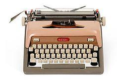Pink & Gray Royal Typewriter $395