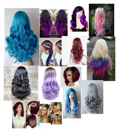 """""""All the hair styles I like 💅🏾💁🏾👌🏾🙆🏾💇🏾💆🏾👀"""" by niyah16 ❤ liked on Polyvore featuring beauty, Leg Avenue and Cotton Candy"""