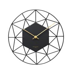 Florin Silent SILENT Wall Clock (Various Colours) | hardtofind.