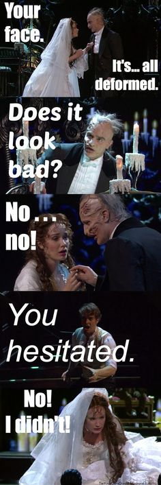 Hahaha! ;) Frozen/POTO///Alicia...not the funniest but then again...it's not a very funny scene anyway. Love you sweetie xo