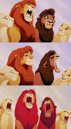 7583e68018f Simba: I smell somethin Kovu: Yeah me too Everyone: HOTDAWGS! Lion King