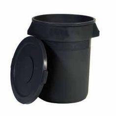 How to make a homemade compost bin with a standard black plastic garbage can.