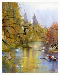watercolor painting | Thomas W Schaller - watercolor fine art | Watercolors Painting