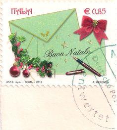 Briefmarke-Europa-Südeuropa-Italien-0.85-2013-Buon Natale