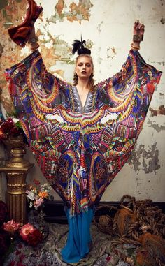 Bohemian Style… Camilla A/W 2013 Bohemian Gypsy, Gypsy Style, Bohemian Style, My Style, Boho Chic, Hippy Chic, Camilla, Style Ethnique, Foto Fashion