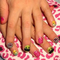 Seriously - aren't these the cutest?! Jamberry Juniors Webs & Monsters! Love them! www.jessandrews.jamberrynails.net