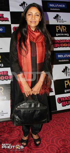 The digital version of classic Chashme Baddoor premiered in Mumbai and was attended by the cast of the film and few Bollywood celebs. Seen here, Chashme Baddoor actress Deepti Naval elegant in a sari. Deepti Naval, Star Images, Hottest Models, Model Photos, New Pictures, One Pic, Movie Stars, Photo Galleries, Bollywood
