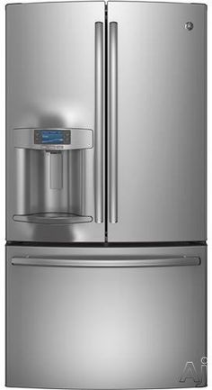 GE Profile PFE28RSHSS Bottom Mount Refrigerator with 27.7 cu. ft. Capacity in Stainless Steel GE http://www.amazon.com/dp/B00MANTPJM/ref=cm_sw_r_pi_dp_MCiGub1AEXJK9