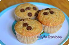 eggless banana carrot almond muffins