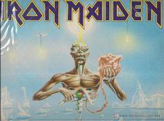 IRON MAIDEN SEVEN SON OF A SEVENTH SON. EMI ODEON 1988.