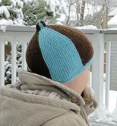 Garter Stripe Hat - Knitting Patterns and Crochet Patterns from KnitPicks.com