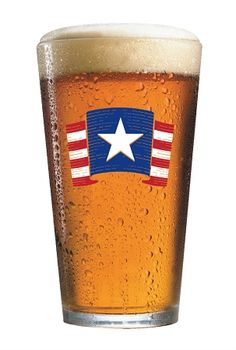 Almighty Star & Stripes Pint Glass, $5.99