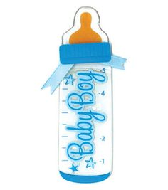 Jolees by You Dimensional Stickers Slim-boy Bottle 015586830347 for sale online Dibujos Baby Shower, Imprimibles Baby Shower, Pregnancy Scrapbook, Baby Boy Scrapbook, Free Baby Shower Printables, Boy Printable, Baby Boy 1st Birthday, Barbie Birthday, Moldes Para Baby Shower