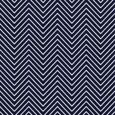 Chevron Chic - Mini - Midnight Blue fabric by kristopherk on Spoonflower - custom fabric