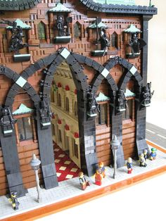 entry the entry Amazing Lego Creations, Lego Pictures, Lego Construction, Lego Modular, Lego Worlds, Lego Design, Lego Architecture, Custom Lego, Lego Building