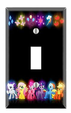 "My Little Pony Friendship is Magic Princess Decorative Single Toggle Light Switch Wall Plate (Standard 1-Gang 2.75"" x 4.5"") N7 Skins,http://www.amazon.com/dp/B00GKIK3E4/ref=cm_sw_r_pi_dp_TAnYsb1TMQJWS9RC"