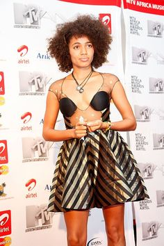 Africa's finest in showbiz showed up at the 2010 MTV Africa Music Awards glowing on both the red carpet and onstage. Rick Ross, Curly Hair Styles, Natural Hair Styles, Goddess Hairstyles, Hip Hop Artists, Natural Hair Inspiration, Music Awards, Mtv, Black Girls