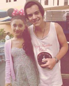 Harry and Ariana: Hariana :)