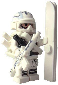 Custom LEGO Military Soldier Minifigure Model Soldiers US Modern Combat Sub Zero Paratrooper