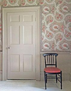 motif de papier peint du mur et le bord de l'image président de la porte de thème