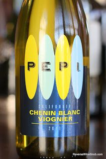 Pepi Chenin Blanc Viognier 2011 - A Perfect Wine For A Picnic. An unusual blend that's unusually good, $10. http://www.reversewinesnob.com/2012/11/pepi-chenin-blanc-viognier-2011.html