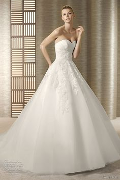 white one ball gown wedding dresses