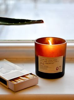 Library Collection Soy Candle in TOLSTOY