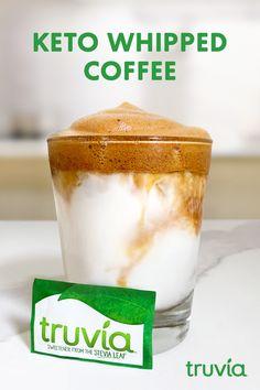 Keto Coffee Recipe, Coffee Recipes, Drink Recipes, Low Carb Drinks, Keto Drink, No Sugar Foods, Freundlich, Low Carb Diet, Keto Snacks