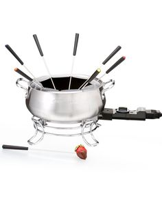 Cuisinart electric fondue set — Couples fondue party, anyone?