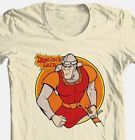 Dragon's Lair Dirk T-shirt retro 80's arcade game vintage cotton graphic tee