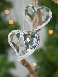 1lifeinspired:Crystal Heart Prisms