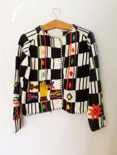 Vintage Beaded Michael Simon Cardigan Sweater by FreshtoDeathVintage on Etsy