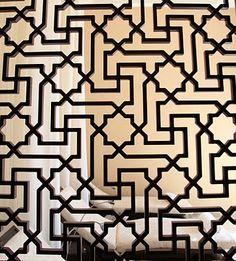 Metal screen Mashrabiya - Four Seasons Hotel, Morocco