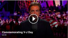 On September 2, 1945, aboard the USS Missouri in Tokyo Bay, Japan formally surrendered to the Allies and in effect ended World War II- the deadliest conflict in human history. On this 70th anniversary we look back on the men and women who helped bring WWII to an end. Click below to watch a tribute by Joe Mantegna and the NSO on the 2015 National Memorial Day Concert. ‪#‎VJDay‬ ‪#‎MemDayPBS‬