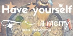 Drink well without the alcohol this Christmas...
