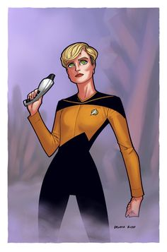 Tasha Yar by ~DennisBudd Watch Star Trek, Star Trek Tv, Star Wars, Star Trek Online, Star Trek Characters, Female Characters, Captain Janeway, United Federation Of Planets, Starfleet Academy