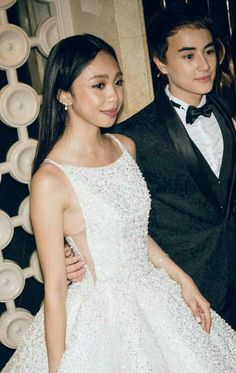 My kind of Barbie and Ken! Star Magic Ball, Filipino Girl, Gowns Of Elegance, Masquerade Ball, Barbie And Ken, Prom Dresses, Wedding Dresses, One Shoulder Wedding Dress, Target