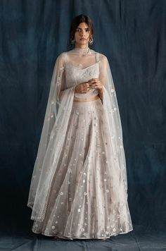 Indian Fashion Dresses, Indian Designer Outfits, Indian Wedding Outfits, Indian Outfits, Indian Attire, Indian Clothes, Indian Wear, Lehenga Skirt, Net Lehenga