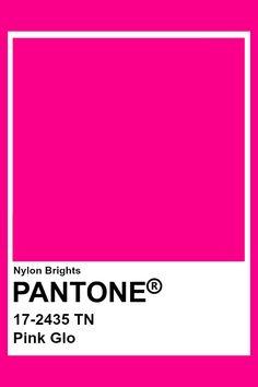 Pink Glo #Pantone Fuschia Pink Color, Pink Color Schemes, Colour Pallete, Neon Colors, Pantone Swatches, Color Swatches, Pantone Colour Palettes, Pantone Color, Paleta Pantone