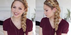 There's a Sneaky Reason Why This Side-Braid Looks So Perfect  - Seventeen.com
