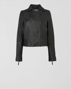 Quilted Leather Jacket,Jaeger