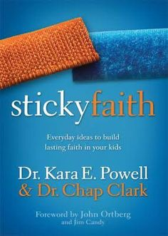 "We've all heard the stats about children drifting, walking, and even running away from God when they reach adulthood. Is there a solution? A magic bullet even? Let me introduce you to Sticky Faith, a book written by Dr. Kara Powell and Dr. Chap Clark after years of research into the topic. They isolate several significant factors which families with children whose faith ""stuck"" seem to have in common. I'll give you a brief overview, but, of course, I'd encourage you to read the book…"