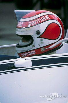Nelson Piquet, British GP, 1980. Grand Prix, Vintage Helmet, Racing Helmets, Nascar Sprint Cup, Formula 1 Car, Helmet Design, Super Yachts, Drag Racing, Auto Racing