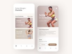 Fitness App Concept designed by Drod. Connect with them on Dribbble; Fitness Tracker App, Fitness App, Mobile App Ui, Mobile App Design, Saint Charles, Show And Tell, Ui Design, Concept, Workout