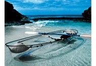 Transparent Canoe Kayak would make a great outdoor adventure in the Lowcountry.