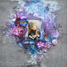 Image par image: This Girl (2Crafty Chipboard)