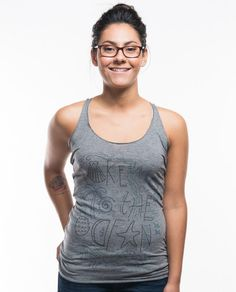 Take Me To The Ocean Triblend Racerback Tank – Sevenly