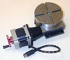 The Design and Construction of a 'Backlash-Free' Rotary Table-rotary1_1-jpg