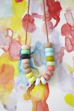 Lola 18 Bead Necklace